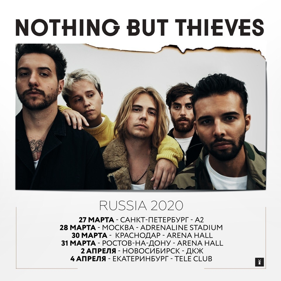 Nothing But Thieves. Санкт-Петербург. А2. 27.03.2020